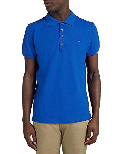 Diesel Men's Cotton Polo T-YAHEI - Blue, (Diesel Mens Casual Shirts)