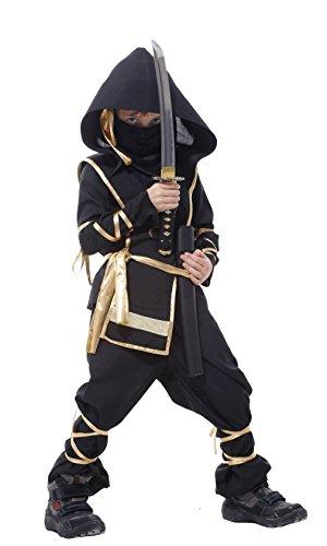 La Vogue Boys Ninja Uniform Kung Fu Costume for Kids