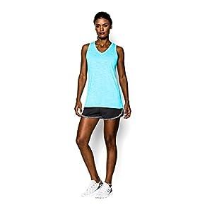 Under Armour Women's Tech Shorts, Black/Black, Medium