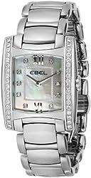 EBEL Women's 1215779 Brasilia Analog Display Swiss Quartz Silver Watch