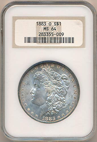 1883 O Morgan Dollar Dollar MS64 NGC