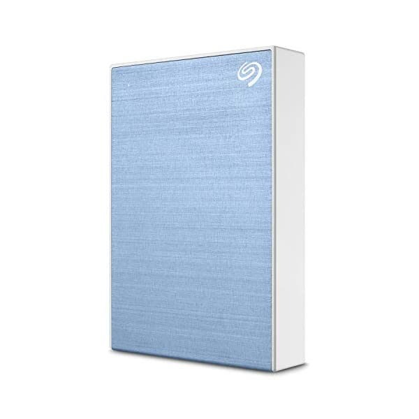 Seagate Backup Plus 5TB External Hard Drive Portable HDD – Light Blue USB 3.0 for PC Laptop and Mac, 1 year MylioCreate…