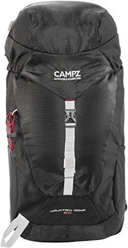 CAMPZ Mountain Comp 20L Rucksack schwarz 2018 outdoor-rucksack