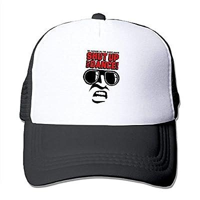 Baseball Cap Shut up and Dance Adjustable Snap Back Custom Mesh Trucker Hat from BHUIA