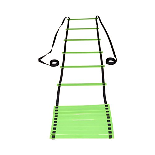 Flat 16 Rung Agility Ladder FREE Fitness PDF Upon Order FREE Training and Exercise Manual on Delivery Speed Training Sports Ladder Fully Adjustable Trainer For Any Sport