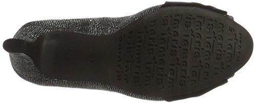 Tamaris 29300, Zapatos de Punta Descubierta para Mujer Negro (Blk Glam/black 092)