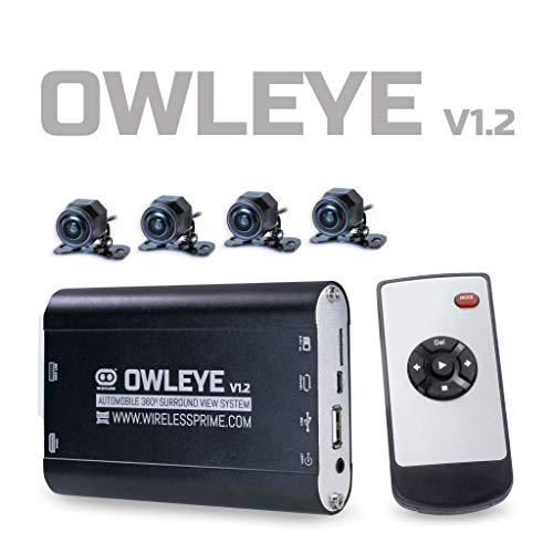 OWLEYE Automobile VR 360 DVR Surround View System for Commercial Vehicle V1.2
