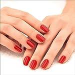Lakmé 9To5 Primer + Gloss Nail Colour, Red Splash, 6 ml