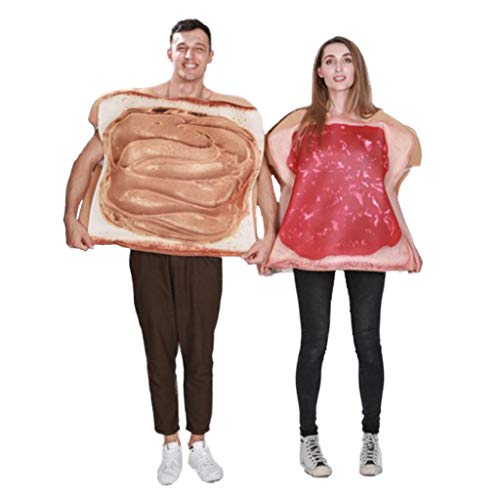 Couple's Peanut Butter and Jelly Costume Adult
