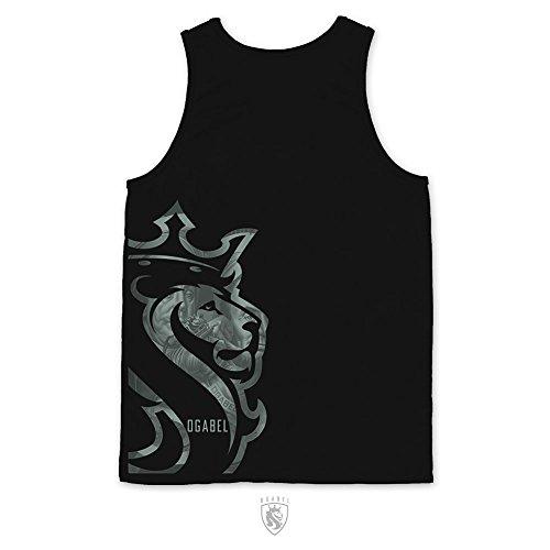 OGABEL Men's Tat Bills Tank Top Shirt Black