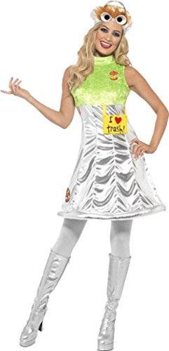 [Sesame Street Oscar Costume Small] (Oscar Sesame Street Costume)