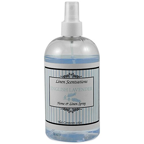 Linen Scentsations 16 oz. Home & Linen Spray - Pack Of 3 (English Lavender) - English Linen