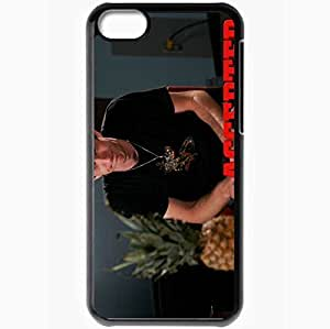 Personalized iPhone 5C Cell phone Case/Cover Skin Accepted Justin Long Bartleby Gaines pineapple Movies Black