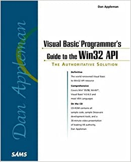 Dan Appleman's Visual Basic Programmer's Guide to the Win32