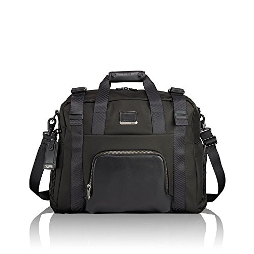 - TUMI - Alpha Bravo Buckley Duffel Bag - Travel Laptop Satchel for Men and Women - Black