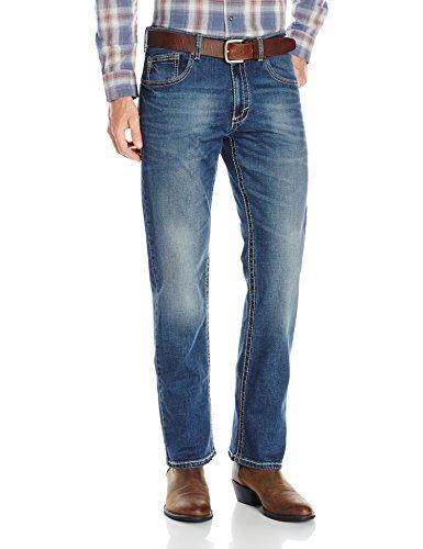 Wrangler Men's 20X Vintage Boot Cut Jean, Midland 34W x 32L -