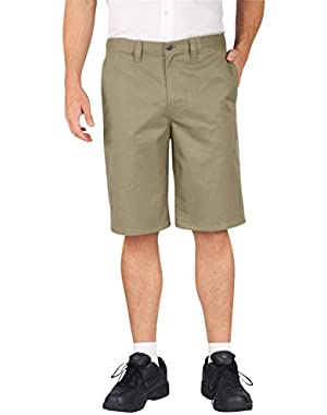 Occupational Workwear LR700BK Polyester/ Cotton Relaxed Fit Men's Premium Industrial Comfort Waist Short with...!