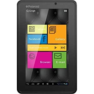 """Polaroid 7"""" Internet Tablet Dual Cameras & Touch Screen"""