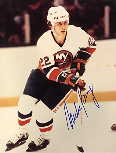 Mike Bossy Signed 8x10 Photo New York Islanders