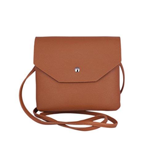 Day of Saturn ®PU cuir petit sac femme sac bandoulière sac porté épaule sac loisirs sac téléphone pour femmes,Vert Brun foncé