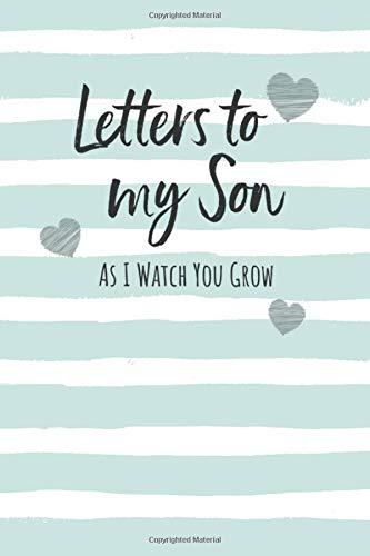 Letters My Son Keepsake Notebook