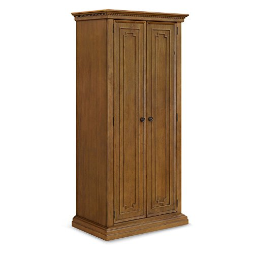Franklin & Ben Nelson Armoire In Rustic Natural Finish by Franklin & Ben