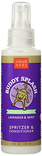 Buddy Splash Leave on Conditioner - Lavender & Mint Scented 4 oz (Star Cloud Buddy Splash)