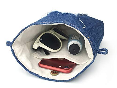 Denim Body Blue Womens Phone Small Purse Pouch Cross Hobo Bag rvrUw