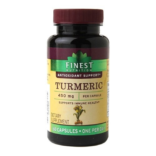 Cheap Finest Nutrition Turmeric 450mg, Capsules 60 ea