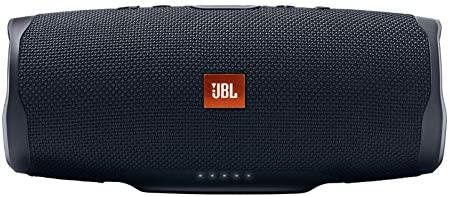 JBL Charge 4 Waterproof Portable Bluetooth Speaker with 20 Hour Battery – Black