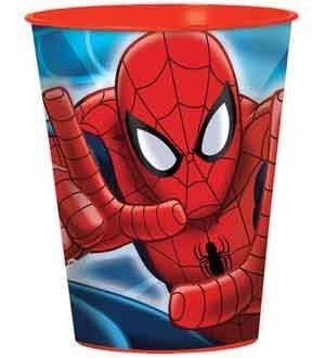Spiderman Favor Cup 16oz [Contains 12 Manufacturer Retail Unit(s) Per Amazon Combined Package Sales Unit] - SKU# 421355