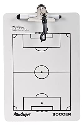 Regent MacGregor Soccer Clip Board (White, Small)