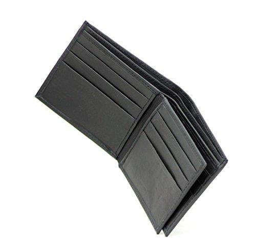 RAS® Herren Luxus Weiche Glatte Leder Brieftasche Mit Kreditkartenfächern & ID-Karte Tasche #103