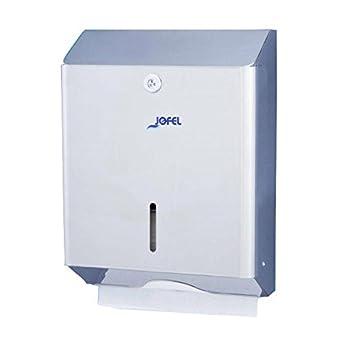 Jofel AH12000 Clásica Dispensador de Toallas de Manos, Zig-Zag, Inox Brillo: Amazon.es: Industria, empresas y ciencia