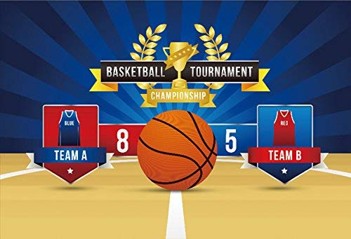 - Team Competition Scoreboard Photography Background 10x6.5ft Basketball Tournament Score Board Template Ball Vector Equipment Object Signs Symbol Banner Sport Game Play Competition