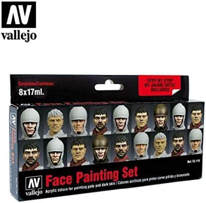 Vallejo Color Set - Set de pintura acrílica (8 unidades), multicolor