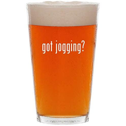 got jogging? - 16oz Pint Beer Glass