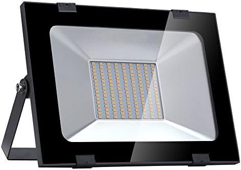 Yuanline Focos LED Exterior de Blanco Cálido 100W 10000LM, 3000k ...