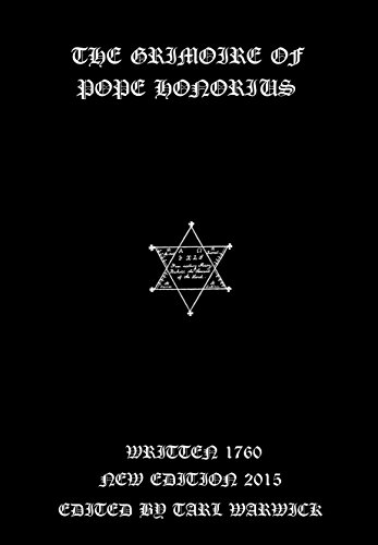 The Grimoire of Pope Honorius (English Edition)