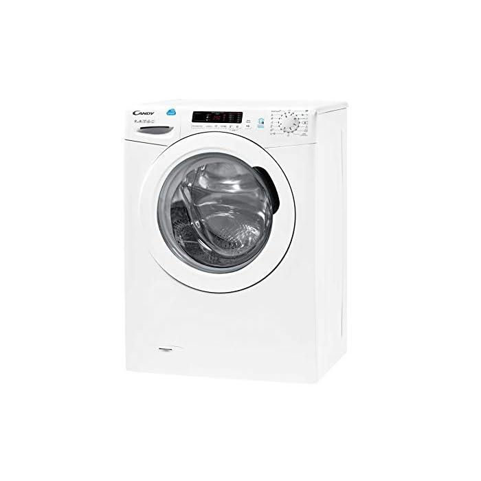 41Cynsg7cwL Haz clic aquí para comprobar si este producto es compatible con tu modelo Puerta XXL, grande y alta: Di adiós a los dolores de espalda mientras introduces y extraes la colada de la lavadora Lavadora conectada a NFC: Conecta tu lavadora con la App Simply-Fi y conecta la lavadora desde tu móvil o por órdenes de voz y descarga nuevos ciclos de lavado