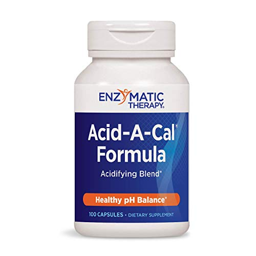 Enzymatic Therapy Acid-A-Cal, 100 Capsules