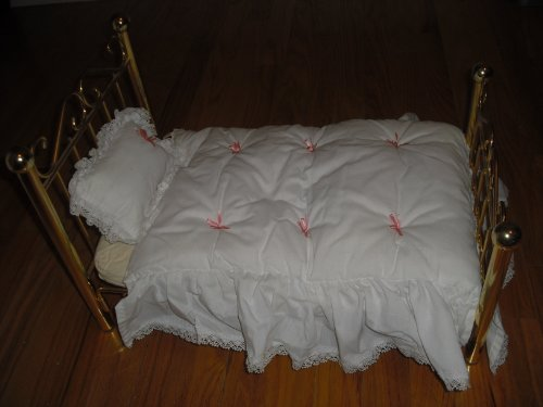 "American Girl Samantha Brass Bed for 18"" Dolls"