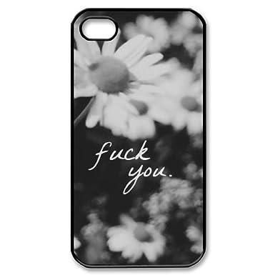 427336ee87b Fuck Flores personalizada Funda para iPhone 4 y 4S, Funda personalizada  Fuck Flores: Amazon.es: Electrónica