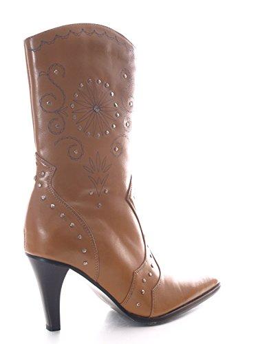 Damen Stiefelette Brown Absatzhöhe ca. 8 cm # 2630