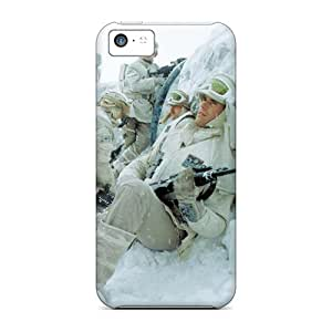 New LPr12810UPDV Snow Fighters Skin Cases Covers Shatterproof Cases For Iphone 5c