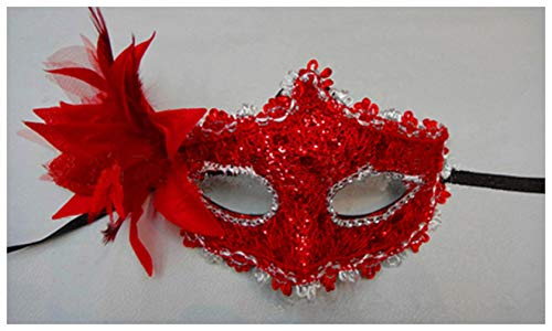 Howiy Womens Mask Lace Venetian Mask Masquerade Carnival Masked Ball Fancy Dress Costume New 4 Style -