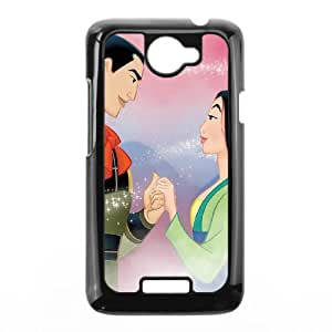 HTC One X Cell Phone Case Black Disney Mulan Character General Li 006 KI5032092