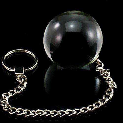 DACHUI 1pcs de vidrio 5 5 5 Tamaño Bola Vaginal Anal Beads bolas Sex Toy Crystal Butt Beads Enchufe para Mujeres Hombres juguetes para adultos inteligentes Kegel bolas de geisha 5cm 1bb49b