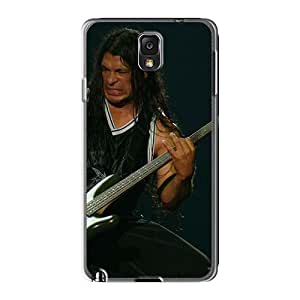 Marycase88 Samsung Galaxy Note3 Shock Absorption Hard Cell-phone Case Support Personal Customs Stylish Metallica Pattern [OpE12767OsWz]