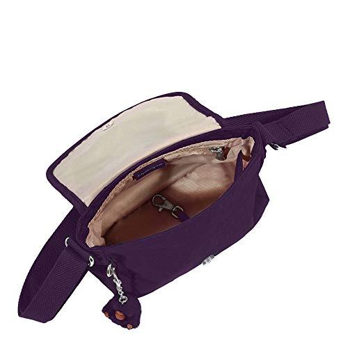Kipling Sabian Purple Alabaster Bag Deep Mini Crossbody 00nrFfPx